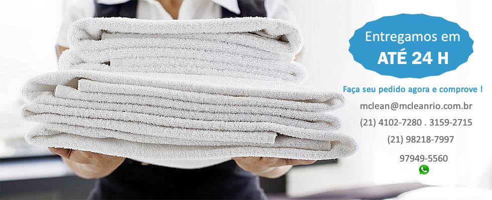 Lavanderia industrial para hotéis e restaurantes
